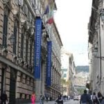 Genova, cadavere mummificato ritrovato in via Balbi: forse overdose