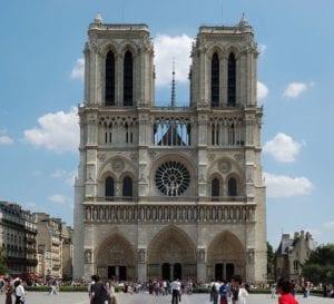 la cattedrale di Parigi