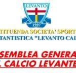 """Levanto, l'8 giugno la prima assemblea del nuovo """"Levanto Calcio"""""""