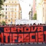 Corteo antifascista a Genova, bloccata piazza Tommaseo