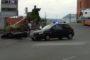 Genova, incidente sul lavoro a Ponte Libia, operaio cade e batte la testa
