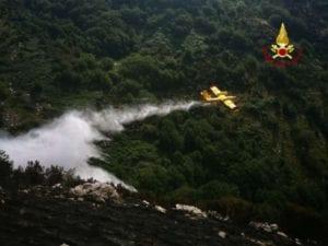 Incendi a Bargagli, identificato il responsabile