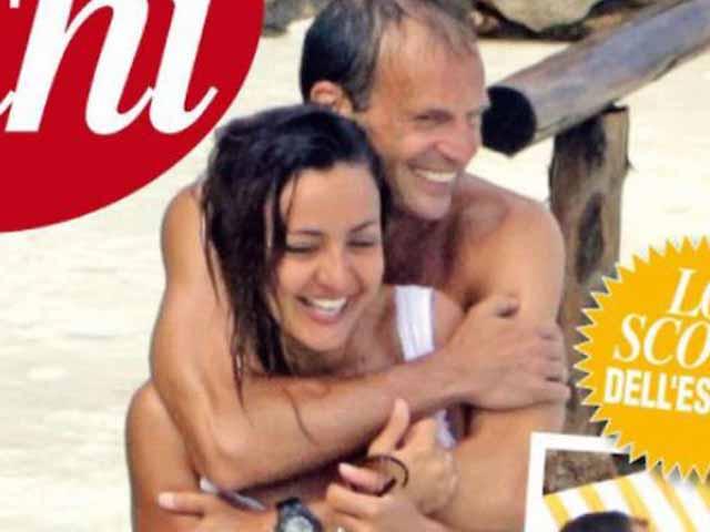 Ambra Angiolini e Allegri, la nuova coppia infiamma l'estate