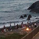 Voltri – Ancora tende e fuochi sulla spiaggia in barba ai controlli