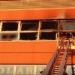 Genova – Incendio nel grattacielo di via di Francia a Sampierdarena – VIDEO