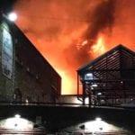 Londra, incendio a Camden Market: nessun ferito