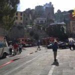 Esplosione in una casa torre a Porto Venere, due feriti