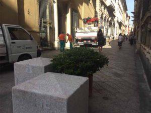 Cubi antiterrorismo, in città ne arriveranno altri 85