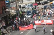 Ericsson - Manifestazione blocca il traffico nel ponente di Genova e