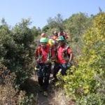 Sanremo – Cade con il parapendio, soccorso al Marzocco