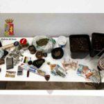 Sampierdarena – Oltre 400 grammi tra hashish e marijuana in casa, un arresto e una denuncia