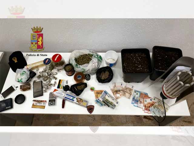 Movida di Ferragosto tra cocaina, hashish e marijuana