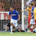 Calcio – Benevento sconfitto 2-1, Quagliarella guida la Samp alla vittoria