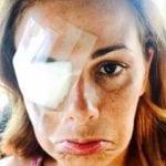 Gossip – Vanessa Incontrada con la benda sull'occhio scatena il panico su Instagram