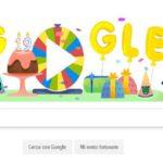 Buon Compleanno Google, 19 anni e un doodle per autocelebrarsi