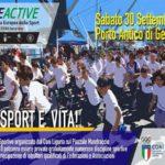 Sabato 30 settembre il Porto Antico ospiterà la giornata Europea dello Sport