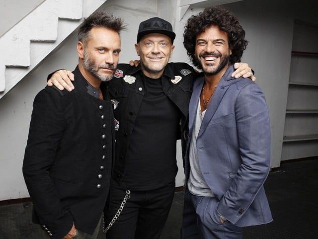 Nek, Max Pezzali e Francesco Renga insieme al PalaSele