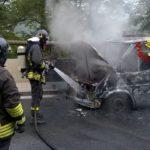 Incendio sull'Autostrada A26 Voltri-Gravellona Toce, chiusa tra Masone e Ovada