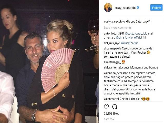 Vieri e Caracciolo una storia da Instagram