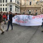 Genova, in corso manifestazione studentesca contro alternanza scuola-lavoro
