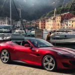 Portofino, la Ferrari ritorna in piazzetta per lo shooting fotografico