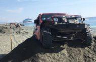 Voltri - Maxi raduno di fuoristrada sulla spiaggia