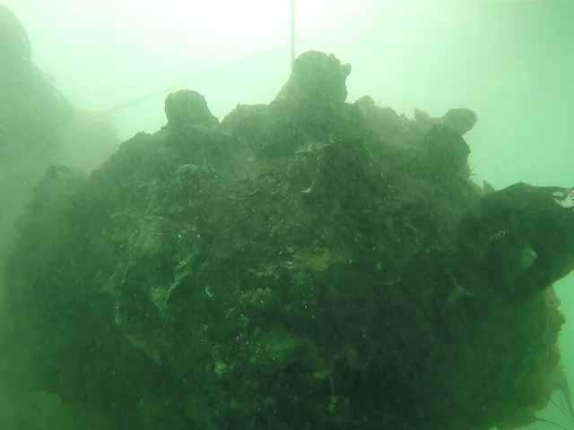 Arenzano - Trovata una mina di profondità in mare