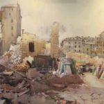 Tra propaganda e documentazione, in mostra gli acquerelli di Aldo Raimondi