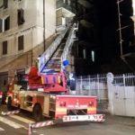 Notte di fuoco, intervento dei Vigili del Fuoco in Via Venezia e Corso Carbonara