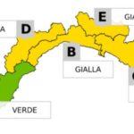 Maltempo in Liguria – Allerta gialla per temporali e piogge