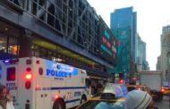 New York, esplosione in una stazione bus di Manhattan