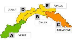 Maltempo in Liguria - Prolungata l'allerta meteo, prevista neve sulle alture