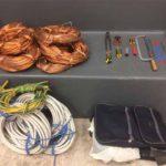 Genova – Rubano 140 chili di rame dalla ex fabbrica, quattro arresti