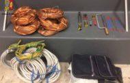 Genova - Rubano 140 chili di rame dalla ex fabbrica, quattro arresti