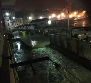 Mareggiata a Genova - La Regione stanzia 100mila euro per le spiagge