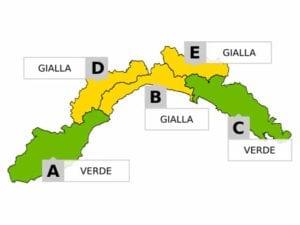 Maltempo in Liguria - Domani allerta gialla su Genova e Savona