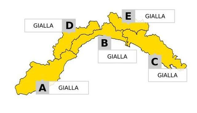 Allerta gialla per maltempo a Genova, tutti i provvedimenti