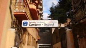 Sampierdarena - Lavori di manutenzione, fermo l'ascensore di via Cantore