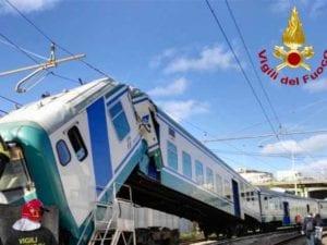 Incidente ferroviario a Brignole, indagato il macchinista