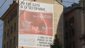 Manifesto Anti Aborto alla Foce, alle 18 presidio in corso Buenos Aires
