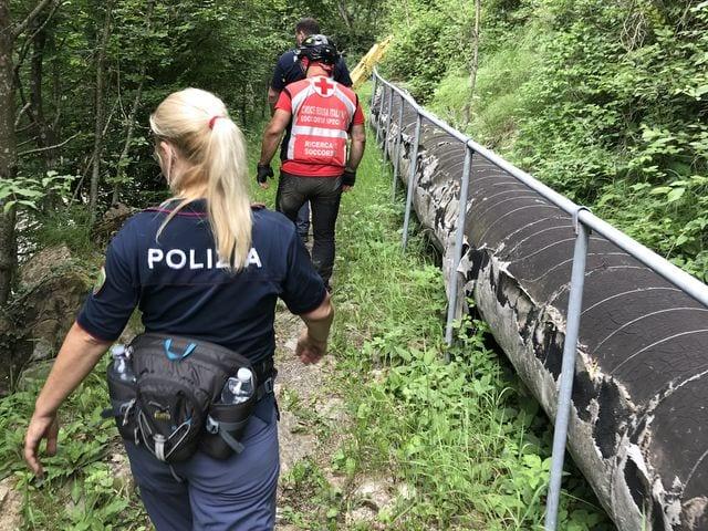 Montoggio - Sospese le ricerche dell'anziano scomparso