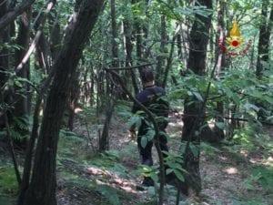 Torriglia, ritrovato l'anziano disperso nei boschi: era a casa