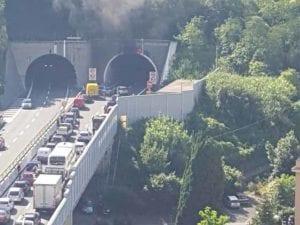Autostrada A12, riaperto il tratto tra Genova Est e Nervi