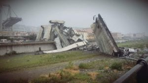 Crollo ponte Morandi, aperto lo sportello legale gratuito per le imprese di autotrasporto