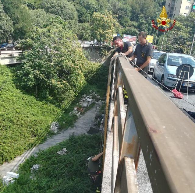 Ponte del Lagaccio chiuso entro oggi, il