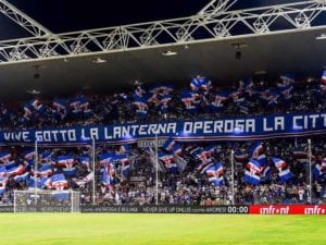 Samp-Fiorentina, si gioca alle 19. Federclubs: