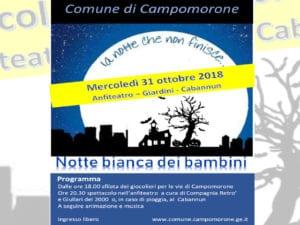 Halloween a Villa Bombrini