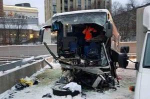 Pullman fuoristrada a Zurigo, morto l'autista genovese