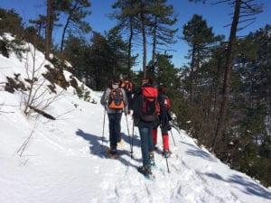 Parco del Beigua, ciaspolata nell'Alta Via dei Monti Liguri