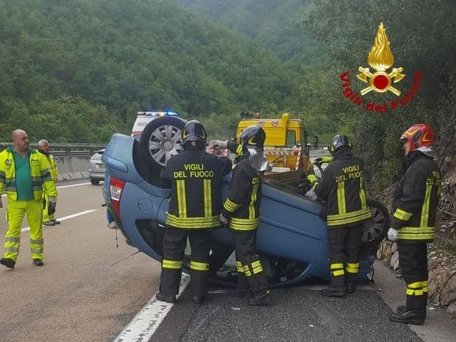 Sanremo - Grave incidente in corso Marconi